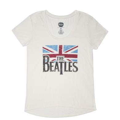 The Beatles Flag Distressed Sleepwear Set