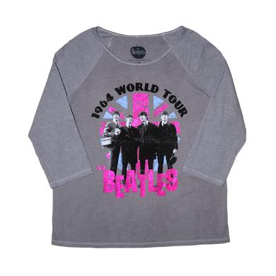 The Beatles Jrs. World Tour Raglan