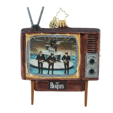 There Are Beatles in The Living Room! Ornament