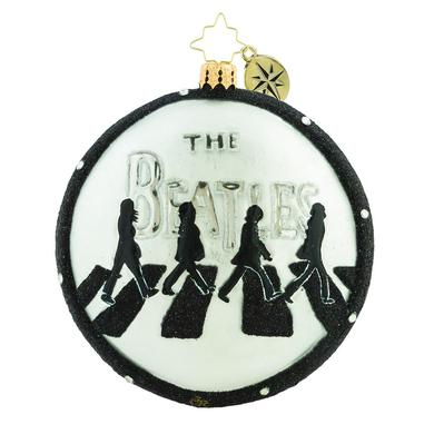 The Beatles Abbey Road Christmas Ornament