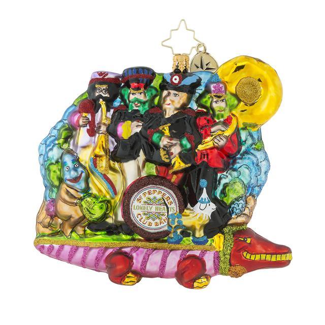 The Beatles Yellow Submarine 50th Anniversary Ornament