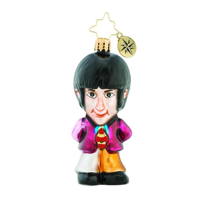 The Beatles On Wings of Christmas Ornament