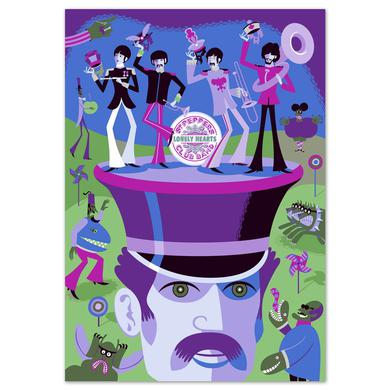 The Beatles SHAG Autographed Screen Print