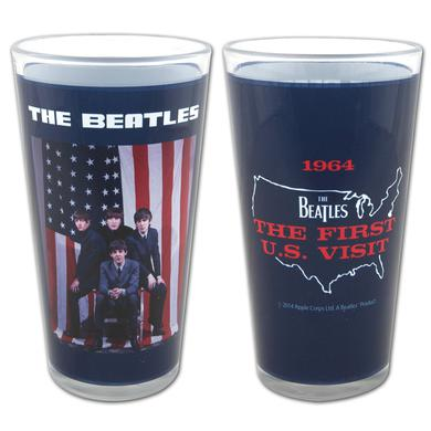 The Beatles U.S. Visit 1964 Pint Glass