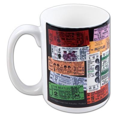 Beatles Ticket Mug