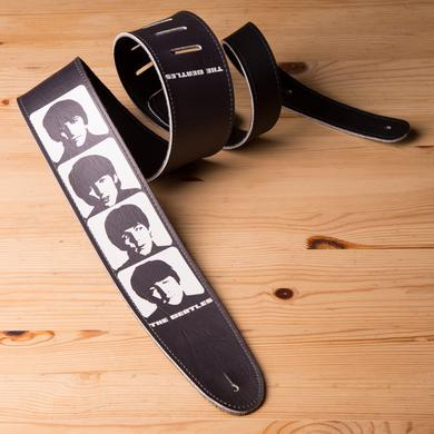 "The Beatles Silhouette 2.5"" Vinyl Guitar Strap"
