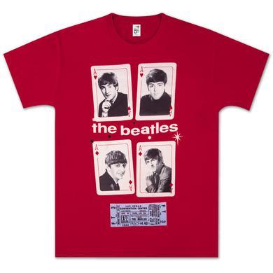 Beatles Vegas Cards T-Shirt