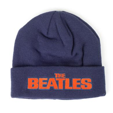 The Beatles Orange Logo Beanie