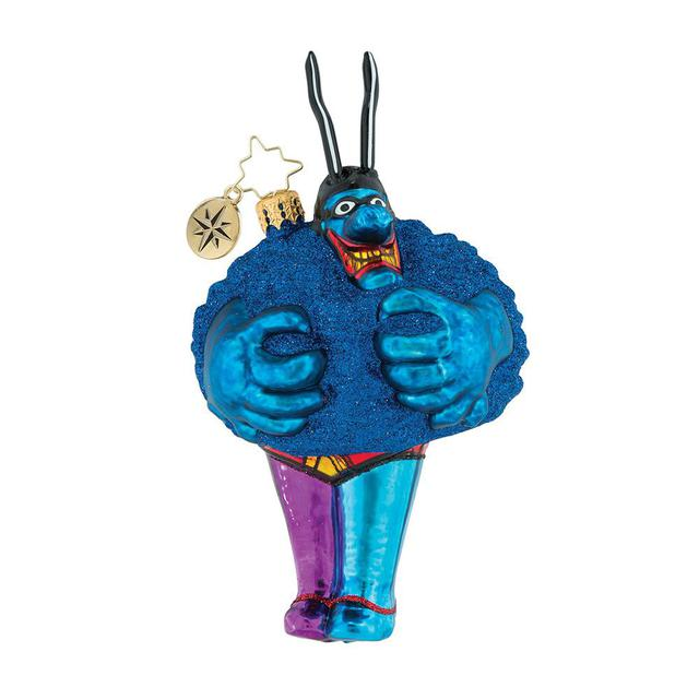 The Beatles Merry Blue Meanie Ornament