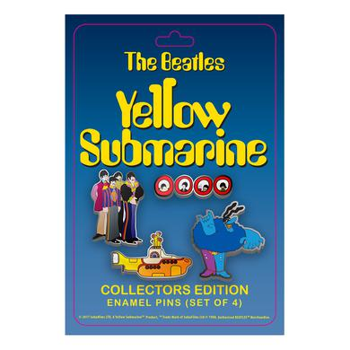 The Beatles Yellow Submarine Collector's Pin Set
