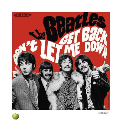 The Beatles Get Back Limited Edition Lithograph