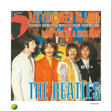 The Beatles All You Need Is Love Limited Edition Lithograph