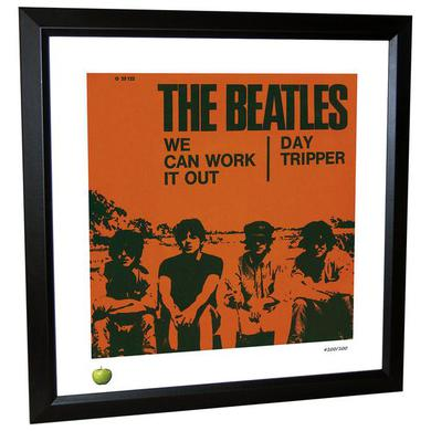 The Beatles We Can Work it Out Limited Edition Framed Lithograph