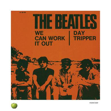 The Beatles We Can Work it Out Limited Edition Lithograph