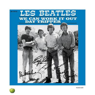 The Beatles Day Tripper Limited Edition Lithograph