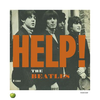 The Beatles Help! Limited Edition Lithograph