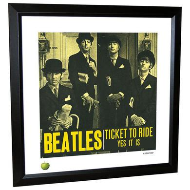 The Beatles Ticket to Ride Limited Edition Framed Lithograph