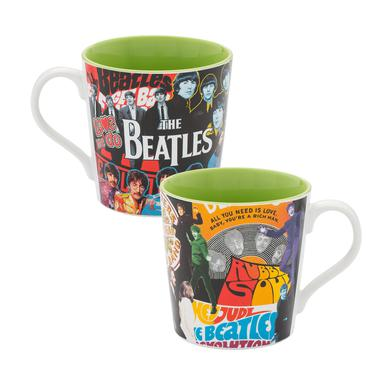 The Beatles Album Collage 12oz Ceramic Mug