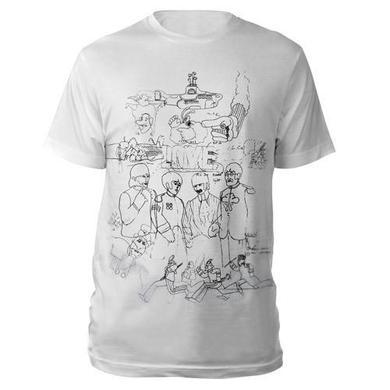 The Beatles Yellow Submarine Men's Shirt