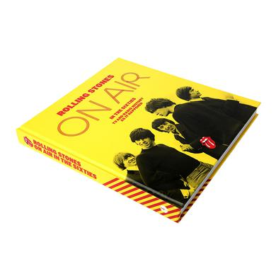 The Rolling Stones On Air In The 60s Hardback Book