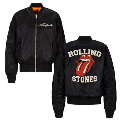The Rolling Stones Stones Varsity Bomber Jacket