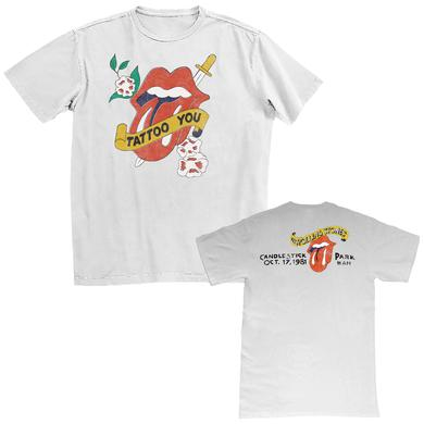 The Rolling Stones Tattoo Your Dagger Tongue T-Shirt