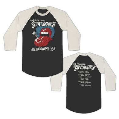 The Rolling Stones Pin Tongue Europe '82 T-Shirt