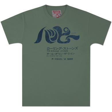 Rolling Stones Happy Vintage Green T-Shirt