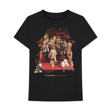 The Rolling Stones It's Only Rock N Roll Collage T-Shirt