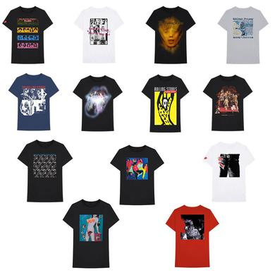 The Rolling Stones 71 Mega Tee Bundle