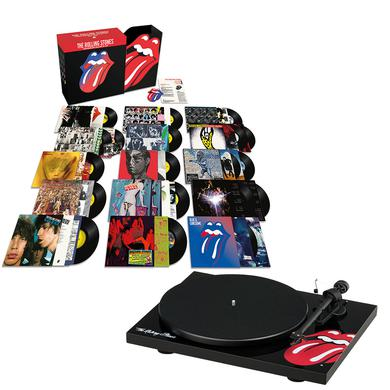 The Rolling Stones Studio Albums Vinyl Collection Box Set + Turntable