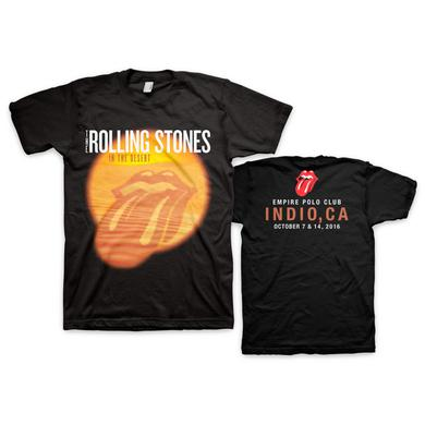 Rolling Stones Black Desert Trip Shirt