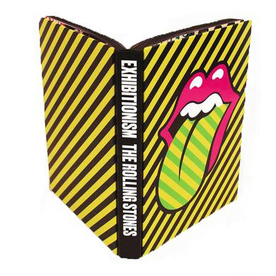 The Rolling Stones Exhibitionism Hard Cover Book