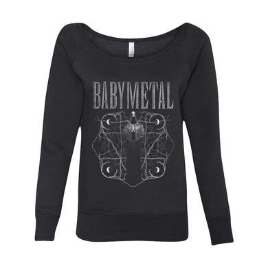 BABYMETAL REAPER WOMENS WIDE NECK SWEATSHIRT