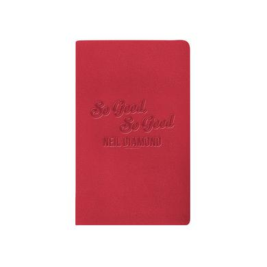Neil Diamond 50th Anniversary Leather Journal