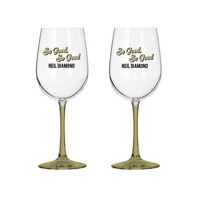 Neil Diamond Wine Glass Set
