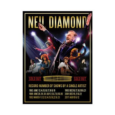 Neil Diamond The Forum Event Poster