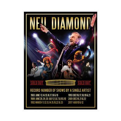 Neil Diamond The Forum Event Poster