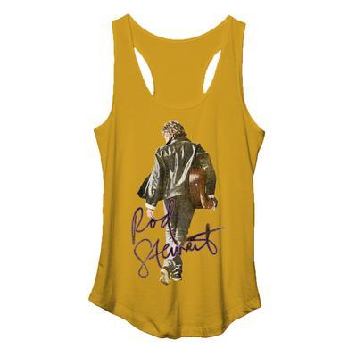 Rod Stewart Walk Out Yellow Tank