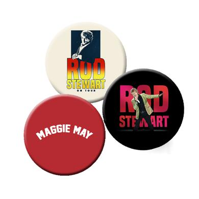 Rod Stewart Summer Pin Set