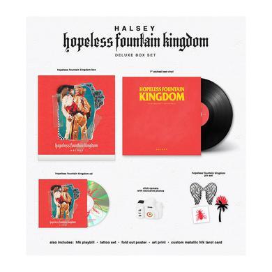Halsey hopeless fountain kingdom deluxe box set
