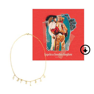 Halsey hopeless fountain kingdom deluxe digital album + necklace
