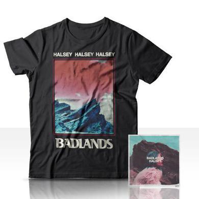 Halsey Badlands CD + T-Shirt