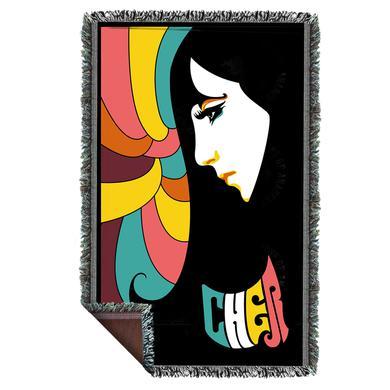 Cher Vintage 60s Woven Blanket