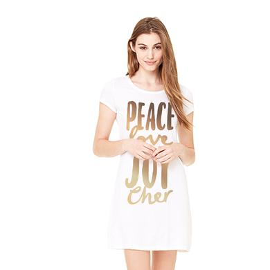 Cher Peace Love and Joy Dress