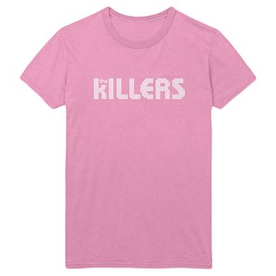 The Killers Traditional Pink T-shirt