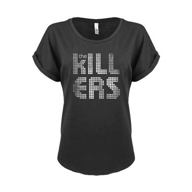 The Killers Distressed Stacked Logo T-Shirt