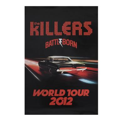 The Killers 2012 World Tour Poster