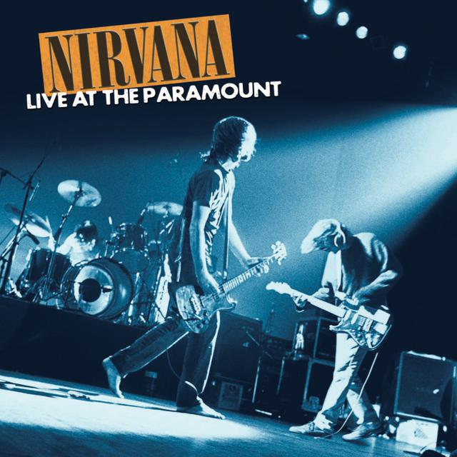 Nirvana Live at the Paramount Limited Edition Orange 2XLP