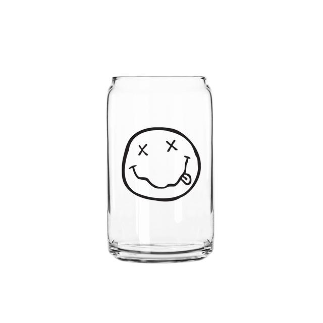 Nirvana Smiley Beer Glass
